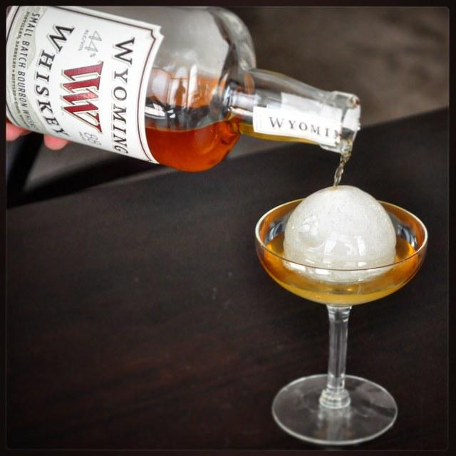 Wyoming Whiskey: Small Batch Bourbon Whiskey.