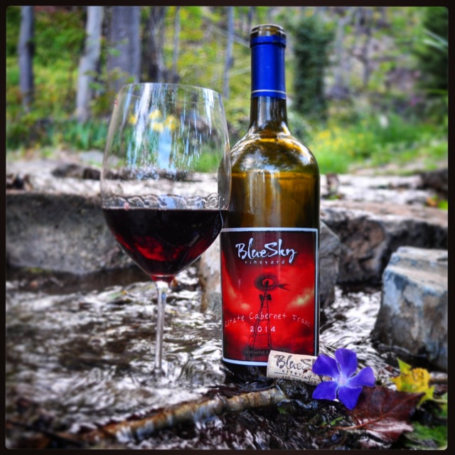 blue sky vineyard cabernet franc