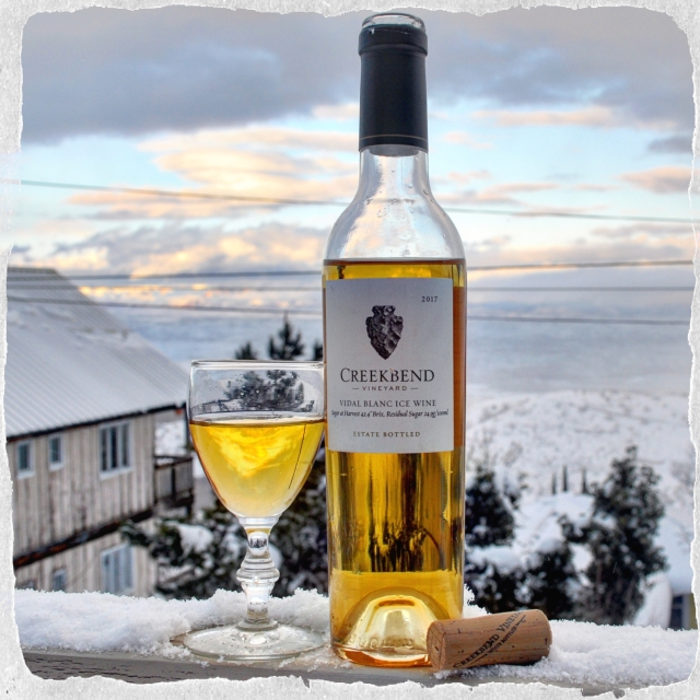 Creekbend Vidal Blanc Ice wine